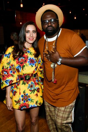 """Aubrey Plaza and Brian Tyree Henry attends """"Child's Play"""" Premiere in Hollywood 2019/06/19 1"""