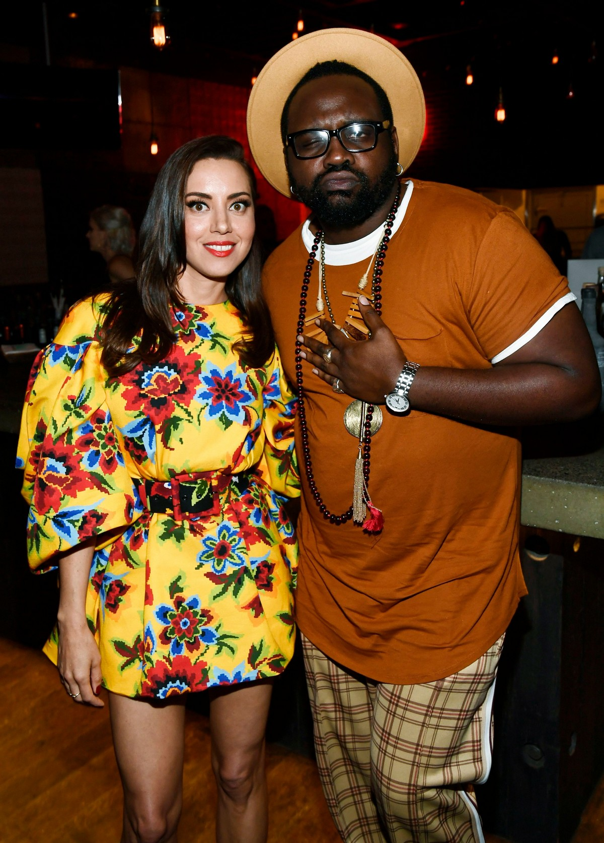"Aubrey Plaza and Brian Tyree Henry attends ""Child's Play"" Premiere in Hollywood 2019/06/19 1"