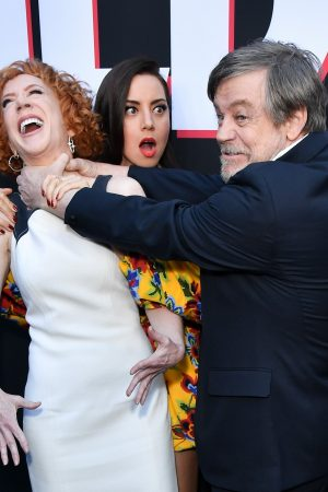 """Aubrey Plaza, Kathy Griffin, Gabriel Bateman, Brian Tyree Henry and Mark Hamill attends """"Child's Play"""" Premiere in Hollywood 2019/06/19 4"""