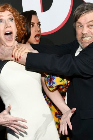 """Aubrey Plaza, Kathy Griffin, Gabriel Bateman, Brian Tyree Henry and Mark Hamill attends """"Child's Play"""" Premiere in Hollywood 2019/06/19 6"""
