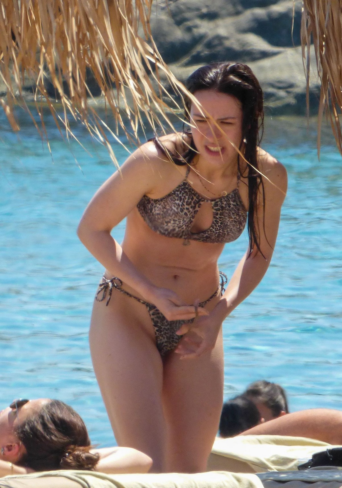 Aurora Ramazzotti in Bikini at The Beach on Mykonos Island 2019/06/06 17