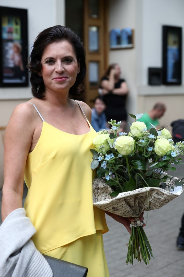 Barbora Kodetova arrives 80th Birthday Party of singer Karel Gott 2019/06/21 1