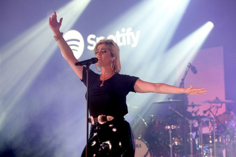 Bebe Rexha performs as Spotify Hosts with Star-Studded Cannes Lions 2019 at Spotify Beach 2019/06/19 1