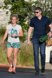 Britney Spears in Shorts After leaves a Yoga Class in Los Angeles 2019/06/27 12