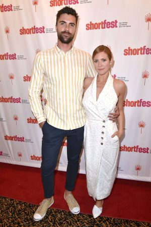 Brittany Snow arrives 25th Annual Palm Springs International ShortFest at Camelot Theatres 2019/06/20 2