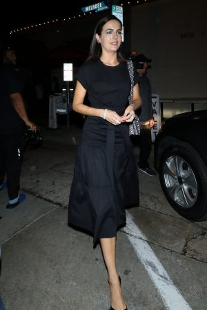 Camilla Belle for dinner at Craig's Restaurant in West Hollywood 2019/06/17 7