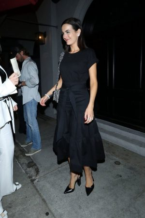 Camilla Belle for dinner at Craig's Restaurant in West Hollywood 2019/06/17 10