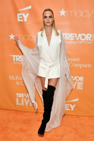 Cara Delevingne attends 2019 TrevorLIVE New York Gala at Cipriani 2019/06/17 1