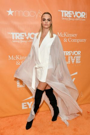 Cara Delevingne attends 2019 TrevorLIVE New York Gala at Cipriani 2019/06/17 4