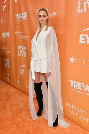 Cara Delevingne attends 2019 TrevorLIVE New York Gala at Cipriani 2019/06/17 5