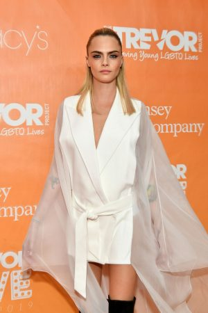 Cara Delevingne attends 2019 TrevorLIVE New York Gala at Cipriani 2019/06/17 9