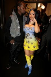 Cardi B and Offset (Rapper) at 2019 BET Awards in Los Angeles 2019/06/23 3