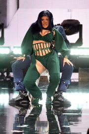 Cardi B performs at 2019 BET Awards in Los Angeles, California 2019/06/23 3