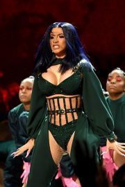 Cardi B performs at 2019 BET Awards in Los Angeles, California 2019/06/23 14