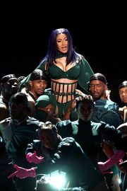 Cardi B performs at 2019 BET Awards in Los Angeles, California 2019/06/23 22