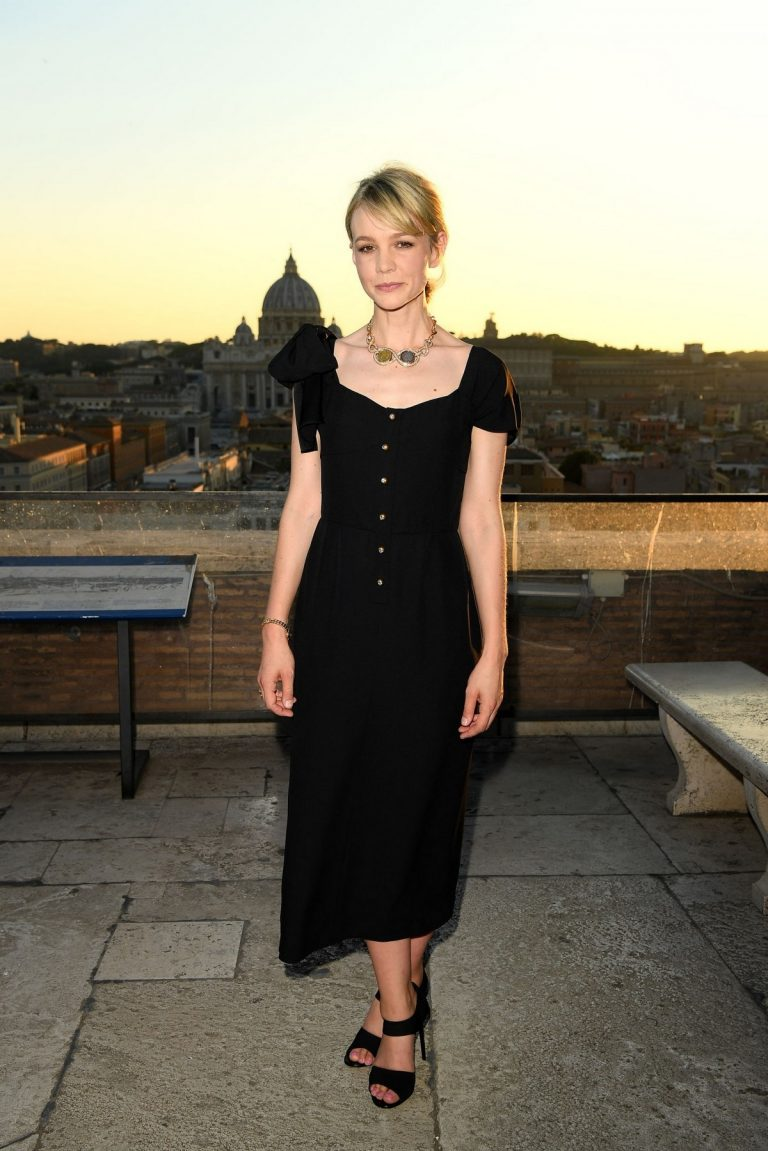 Carey Mulligan attends BVLGARI - The Story, The Dream in Rome, Italy 2019/06/25 2