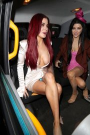 Carla Howe Nip Slip Dress during arrives at Libertines in London 2019/06/22 4