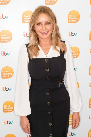 Carol Vorderman arrives Good Morning Britain TV Show in London 2019/06/20 2
