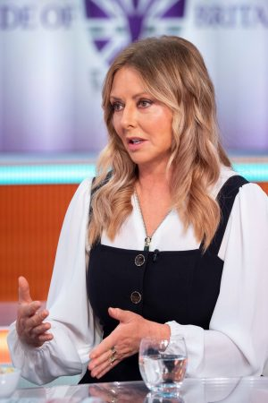 Carol Vorderman arrives Good Morning Britain TV Show in London 2019/06/20 3