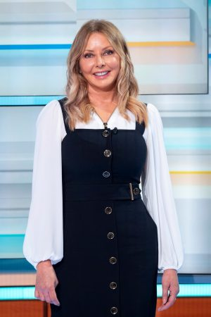 Carol Vorderman arrives Good Morning Britain TV Show in London 2019/06/20 7