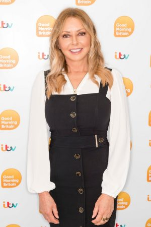 Carol Vorderman arrives Good Morning Britain TV Show in London 2019/06/20 10