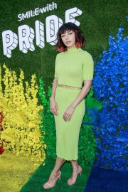 Charli XCX attends Live from The Artists Den WorldPride at Pier 17 in New York 2019/06/27 2