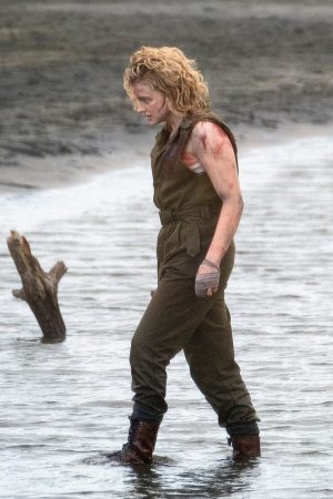 "Chloe Grace Moretz Shooting for ""Shadow in the Cloud"" in New Zealand 2019/06/10 11"
