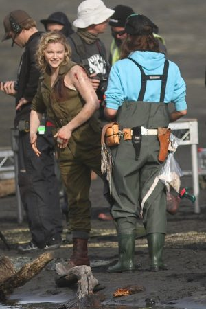 "Chloe Grace Moretz Shooting for ""Shadow in the Cloud"" in New Zealand 2019/06/10 20"