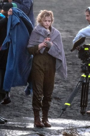 "Chloe Grace Moretz Shooting for ""Shadow in the Cloud"" in New Zealand 2019/06/10 23"