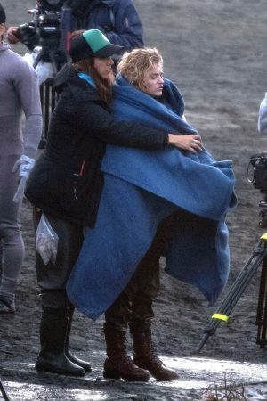 "Chloe Grace Moretz Shooting for ""Shadow in the Cloud"" in New Zealand 2019/06/10 24"