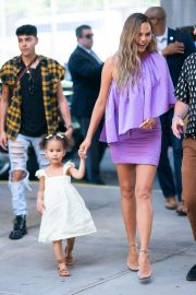 Chrissy Teigen Out with Her Daughter in New York City 2019/06/23 4