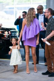 Chrissy Teigen Out with Her Daughter in New York City 2019/06/23 10