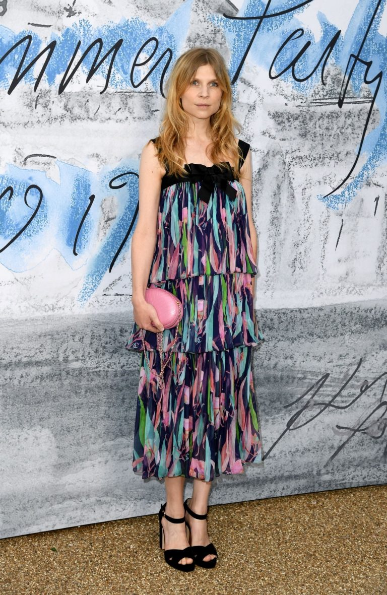 Clemence Poesy attends The Summer Party 2019 at The Serpentine Gallery 2019/06/25 4