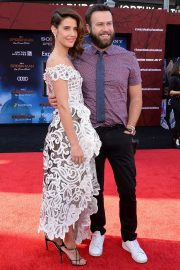"""Cobie Smulders and Taran Killam arrives """"Spider-Man Far From Home"""" Premiere at TCL Chinese Theatre in Hollywood 2019/06/26 4"""