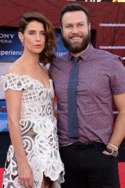 """Cobie Smulders and Taran Killam arrives """"Spider-Man Far From Home"""" Premiere at TCL Chinese Theatre in Hollywood 2019/06/26 6"""