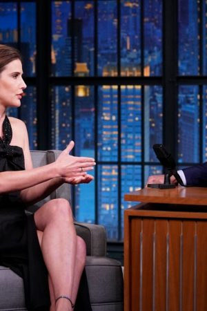 Cobie Smulders attends On Late Night With Seth Meyers 2019/06/17 1