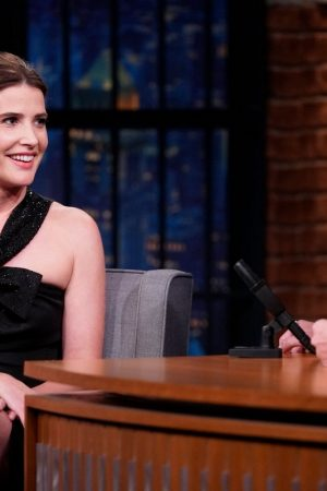 Cobie Smulders attends On Late Night With Seth Meyers 2019/06/17 2