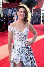 """Cobie Smulders attends Sony Pictures """"Spider-Man Far From Home"""" Premiere at TCL Chinese Theatre in Hollywood 2019/06/26 4"""