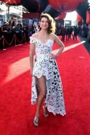 """Cobie Smulders attends Sony Pictures """"Spider-Man Far From Home"""" Premiere at TCL Chinese Theatre in Hollywood 2019/06/26 5"""