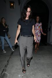 Courteney Cox Leaves Night Out at Craig's Restaurant in West Hollywood 06/25/2019 1