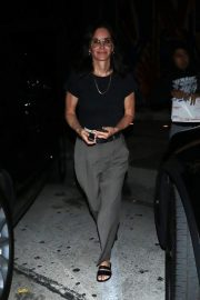 Courteney Cox Leaves Night Out at Craig's Restaurant in West Hollywood 06/25/2019 3