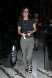 Courteney Cox Leaves Night Out at Craig's Restaurant in West Hollywood 06/25/2019 4