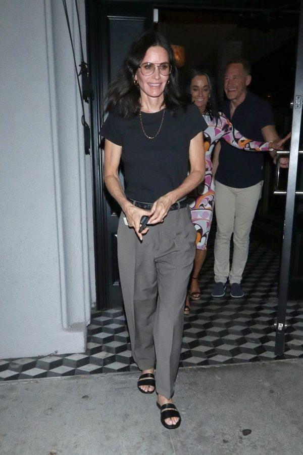 Courteney Cox Leaves Night Out at Craig's Restaurant in West Hollywood 06/25/2019 5