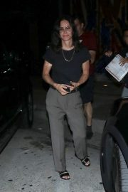 Courteney Cox Leaves Night Out at Craig's Restaurant in West Hollywood 06/25/2019 6
