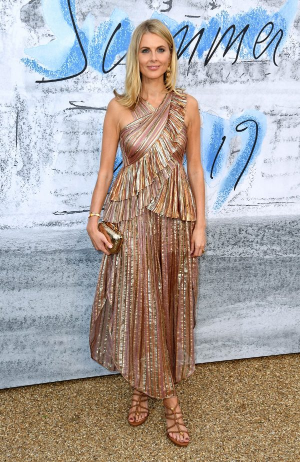 Donna Air attends The Serpentine Gallery Summer Party 2019 in London 2019/06/25 4
