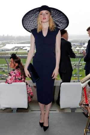 Ellie Bamber attends In the Moet & Chandon box of Royal Ascot at Ascot Racecourse 2019/06/19 6