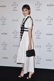 Ellise Chappell arrives ELLE List in Association with Magnum Ice Cream in London 2019/06/19 2