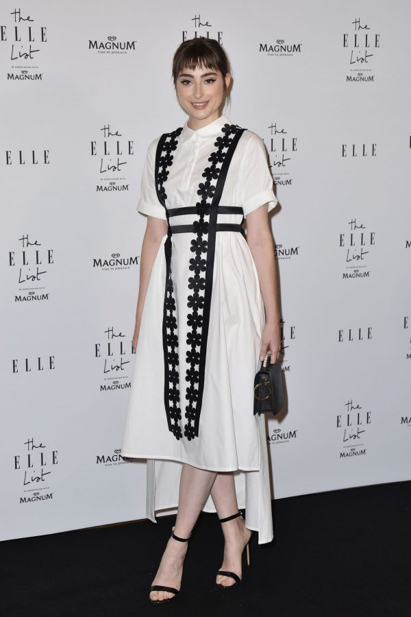 Ellise Chappell arrives ELLE List in Association with Magnum Ice Cream in London 2019/06/19 4