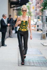 Elsa Hosk in Prada Shoes in SoHo in New York 2019/06/05 3