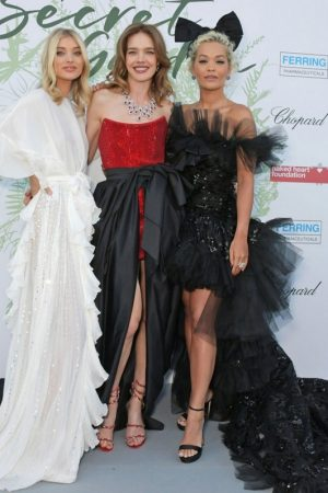 Elsa Hosk, Natalia Vodianova and Rita Ora at The Secret Garden Charity Gala in Switzerland 2019/06/13 1